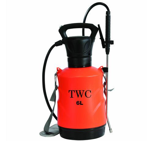 TWC Batterie Drucksprüher 6 Liter