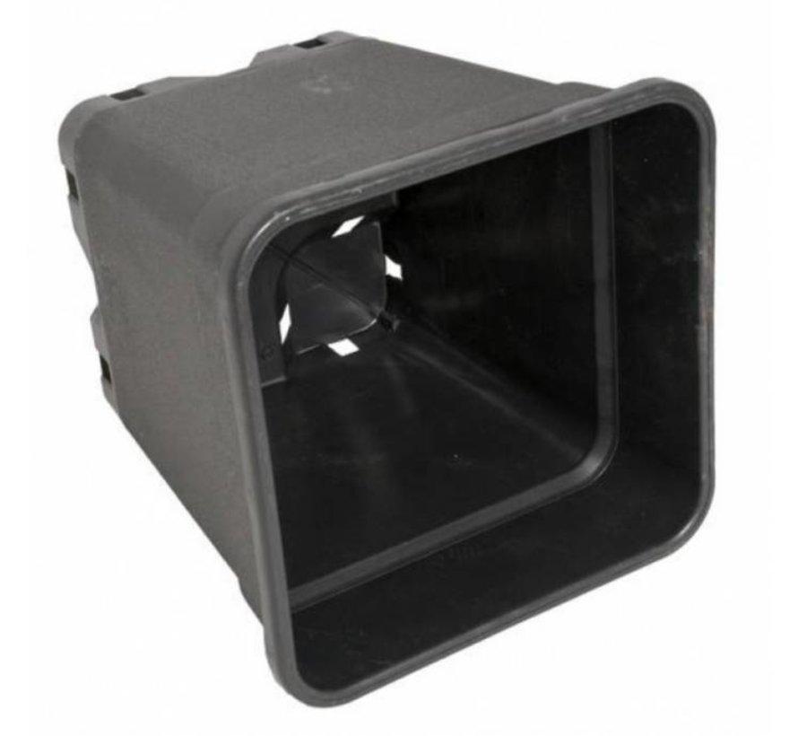 Anzuchtopf - 3,5 Liter 15x15x20cm Kunstoff viereckig