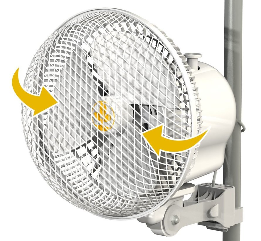 Secret Jardin Monkey Fan Ventilator Schwenkbar R2.00 20 Watt
