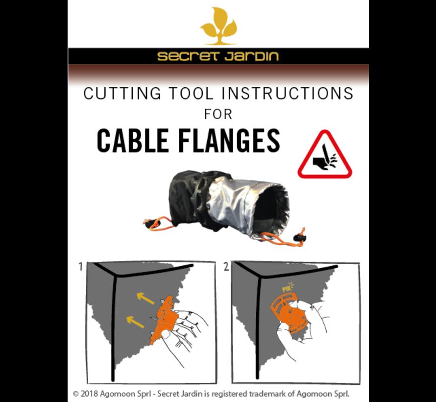Secret Jardin Cable Flange