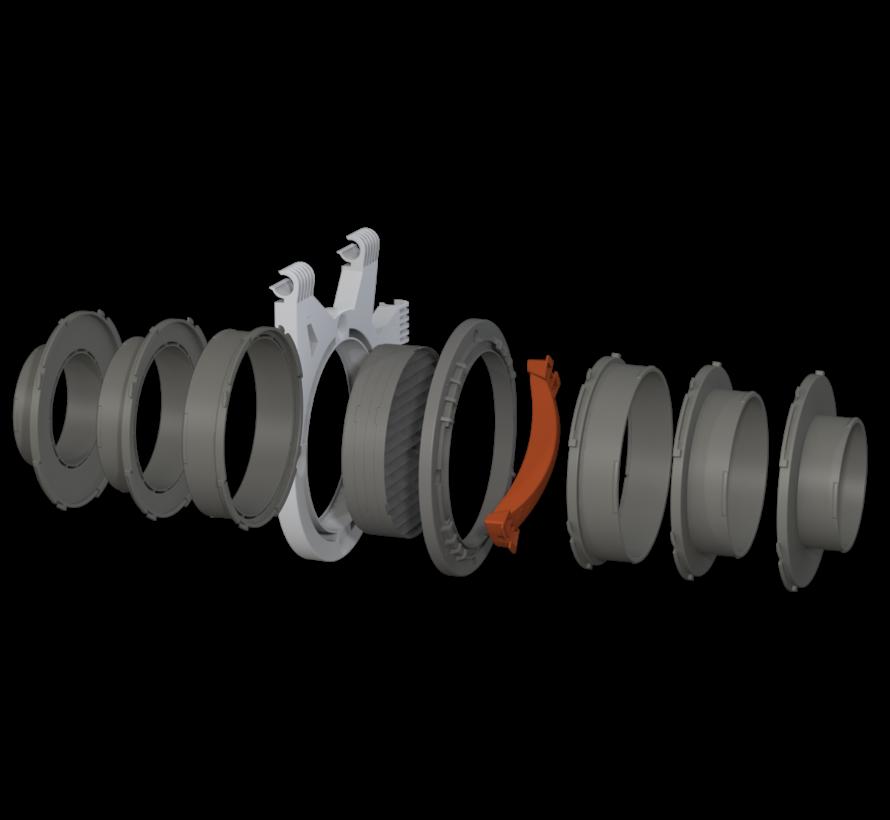 Rohr Flansch Anschlüsse Ø125 mm