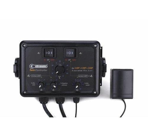 Cli-mate Twin Controller 4+4 Amp oder 12+12 Amp