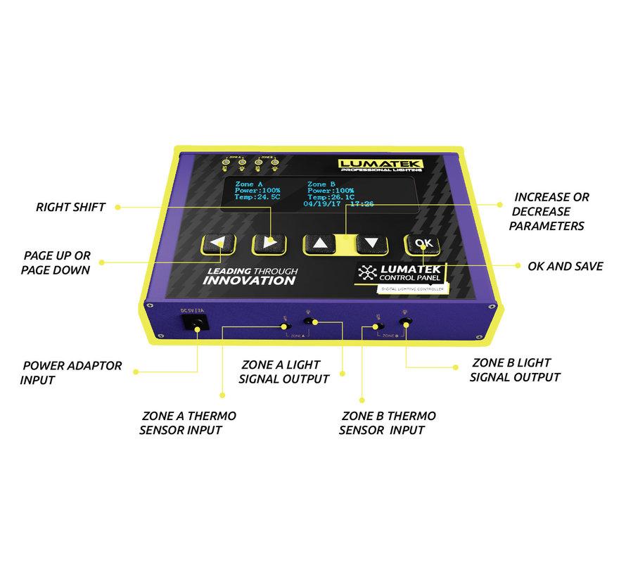 Lumatek Digital Control Panel