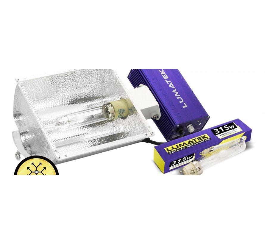 Aurora CMH 315 Watt All-in-one Grow Lampe Set