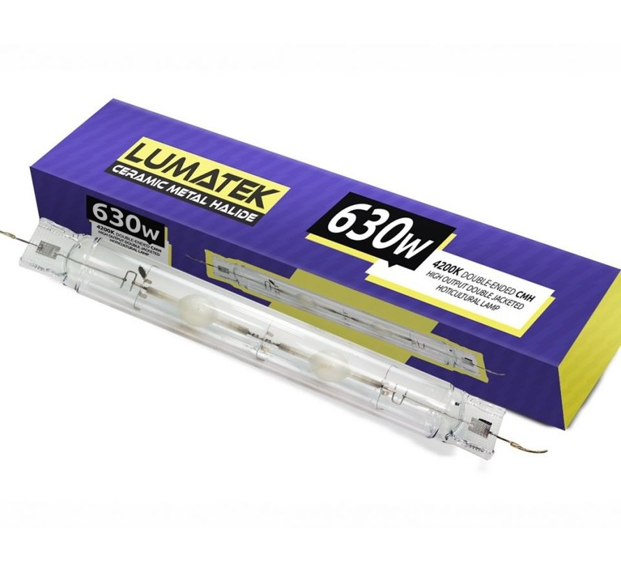 Tekken Pro CMH 630 Watt DE Grow Lampe Set - mit Hammerschlag-Reflektor