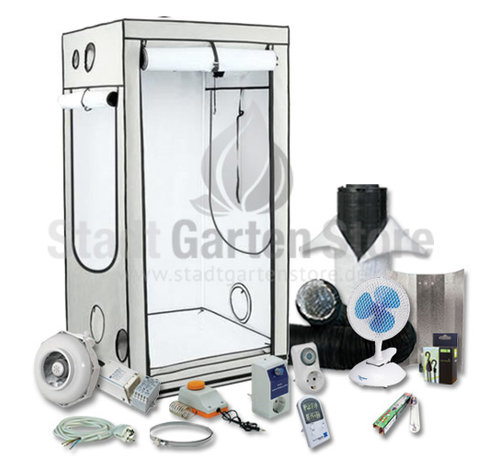 Homebox Ambient Q100 Growbox Komplettset 600 Watt 100x100x200