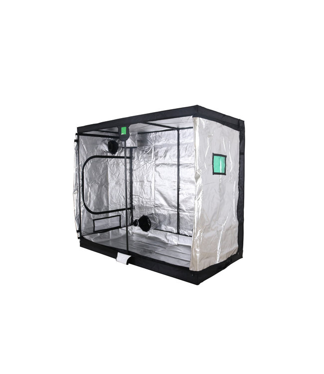 BudBox Pro XXL Growbox Silber 120x240x200 cm