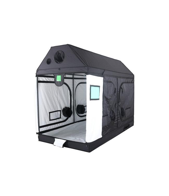 BudBox Pro XXL R Growbox Weiß 120x240x180 cm
