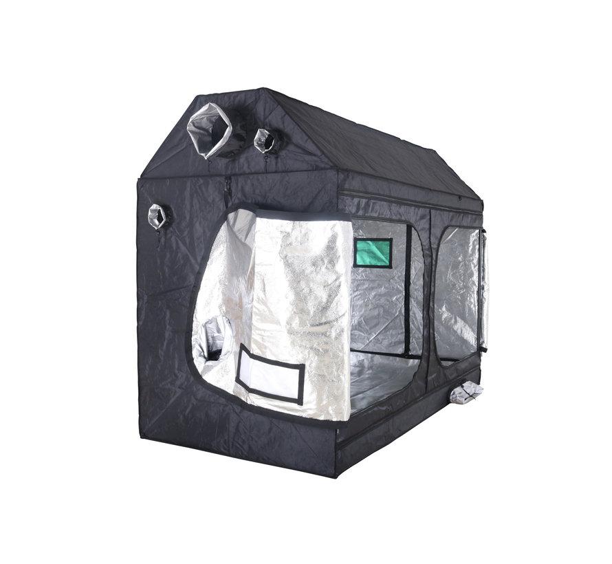 BudBox Pro XXL R Growbox Silber 120x240x180 cm
