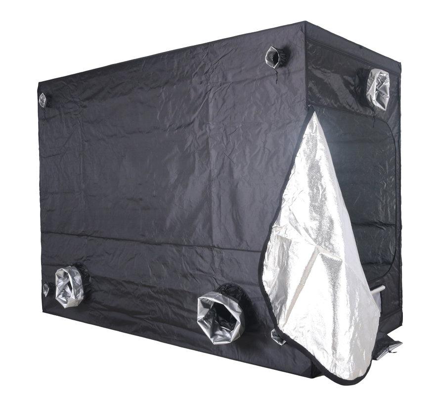 BudBox Pro XXL Plus HL Growbox Silber 150x300x220 cm