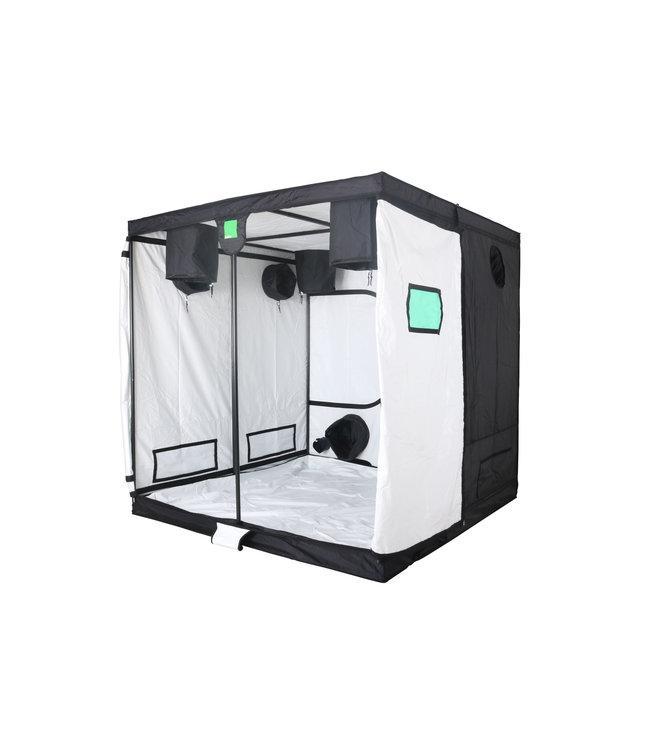 BudBox Pro Titan 1 Growbox Weiß 200x200x200 cm
