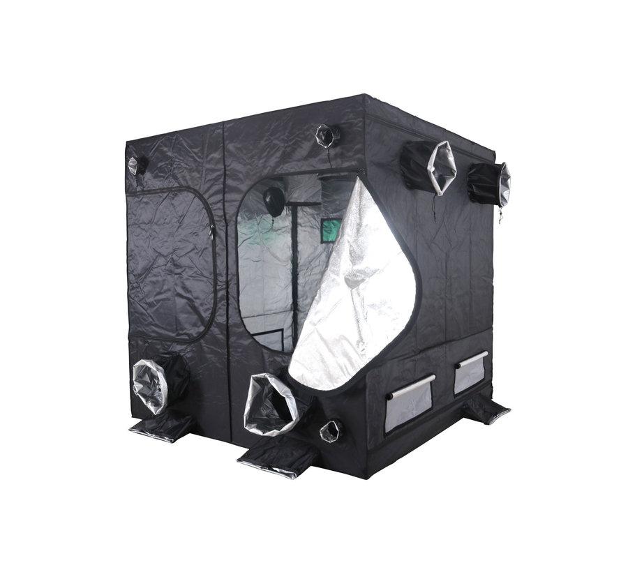 BudBox Pro Titan 1 Growbox Silber 200x200x200 cm