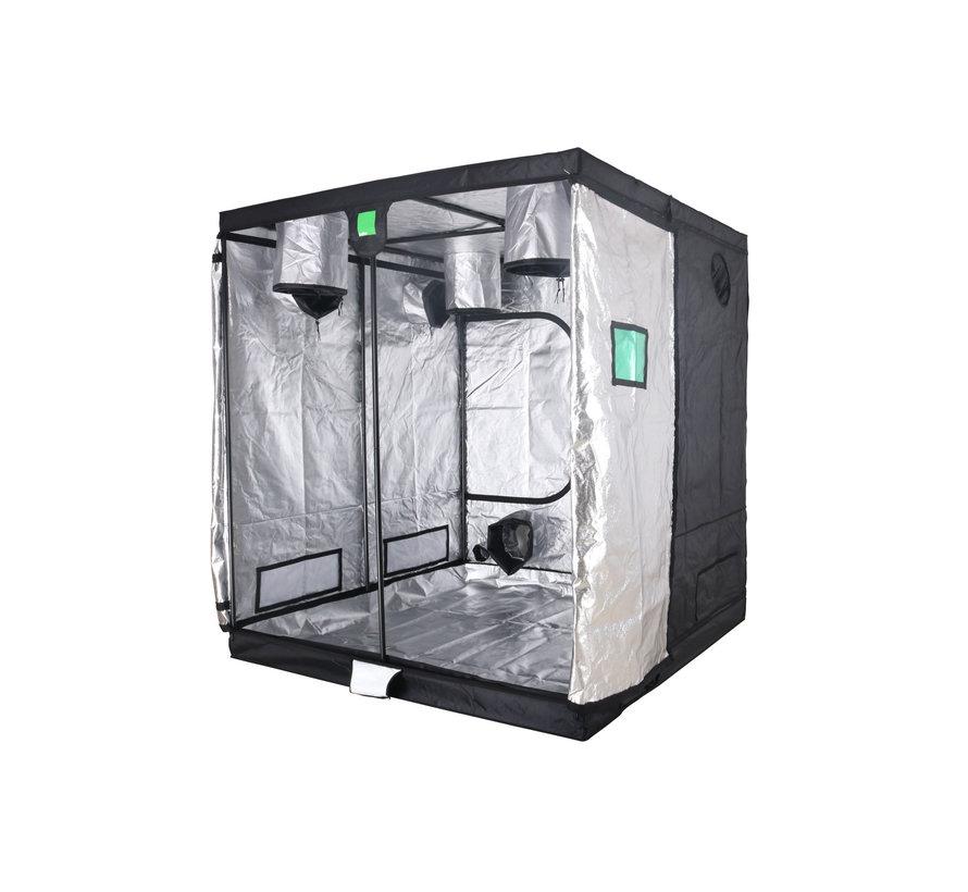 BudBox Pro Titan 1 HL Growbox Silber 200x200x220 cm