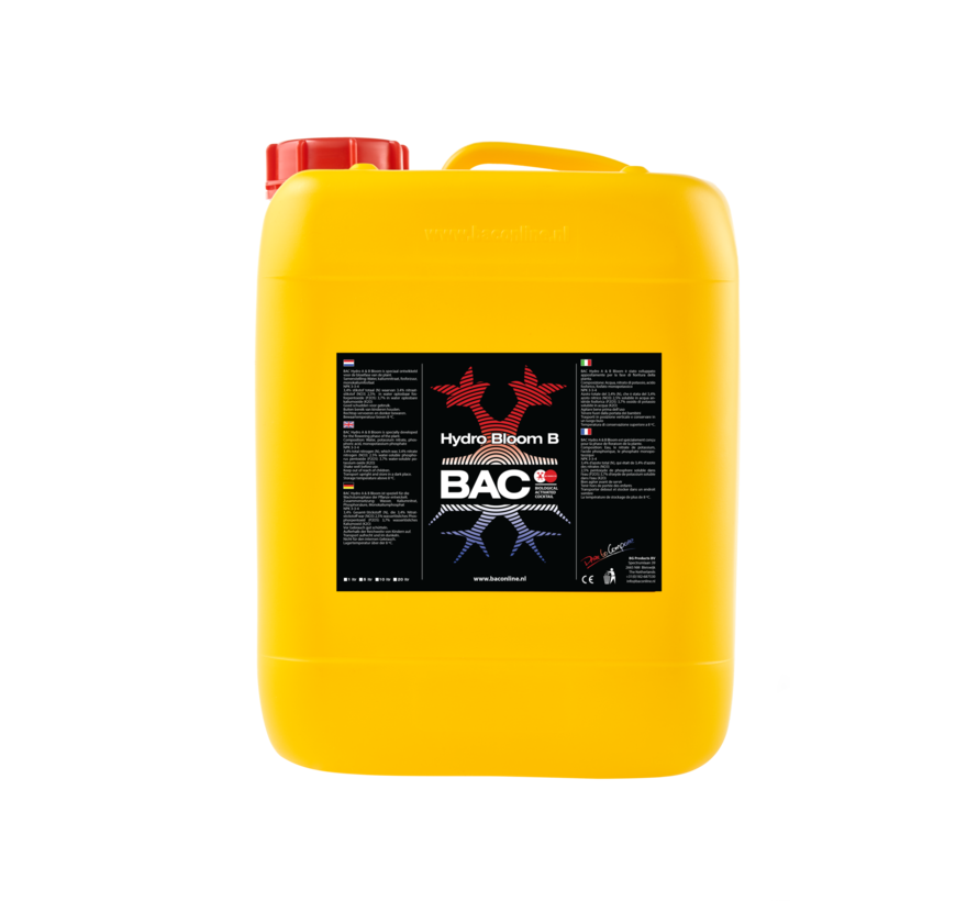 BAC Hydro A&B Blühdünger 5 Liter