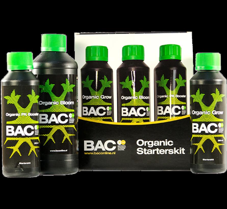 BAC Organic Starter Kit Klein Pflanzennahrung