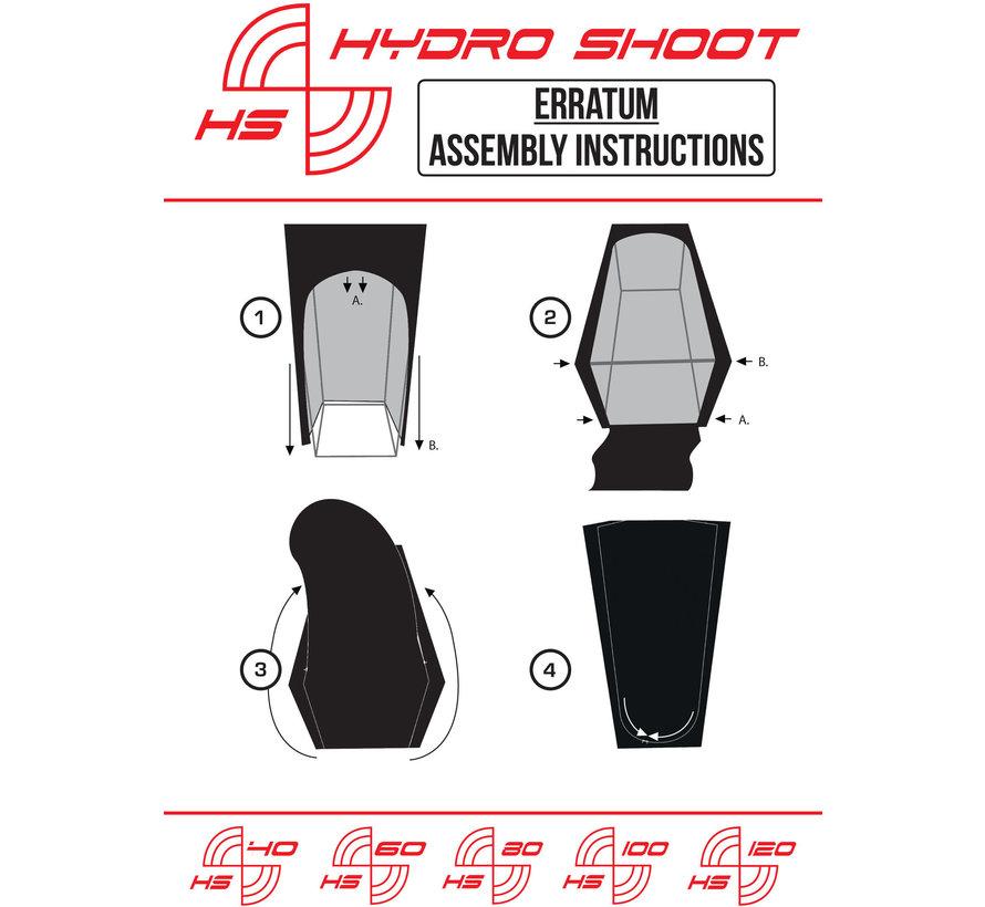 Secret Jardin Hydro Shoot 100 Budget Growbox Set LED 100x100x200
