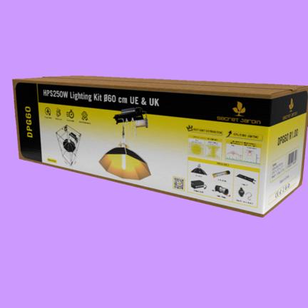 Growlampe Komplettsets 250 Watt