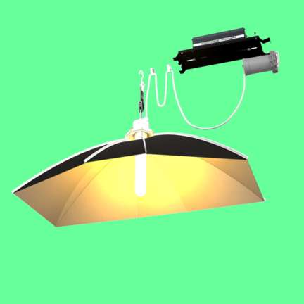 Growlampe Komplettsets 400 Watt