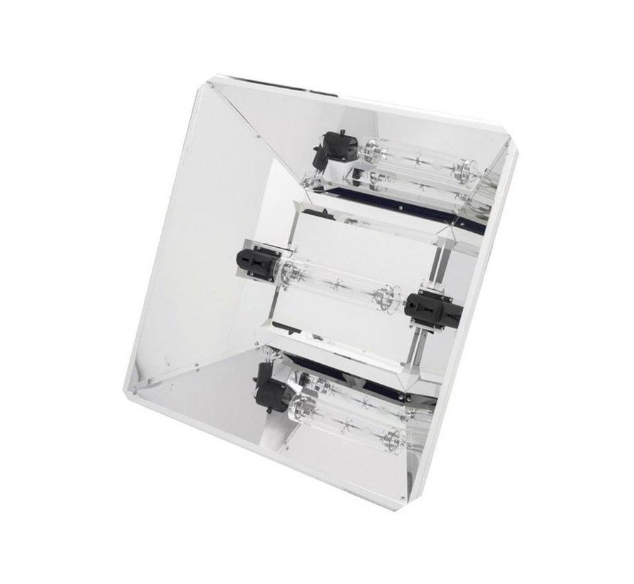 Tekken Pro CMH 630 Watt DE Grow Lampe Set - mit Hochglanz-Reflektor