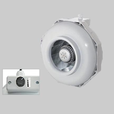 Can-Fan RKLS Rohrventilator mit 4 Stufen