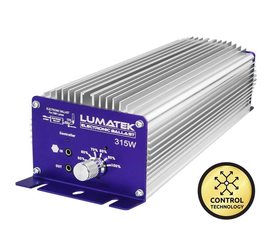 Lumatek 315W CMH Steuerbares Vorschaltgerät + E40 Adaptor