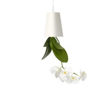 Boskke Sky Planter Recycled Blumentopf Weiß Klein
