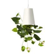 Boskke Sky Planter Recycled Blumentopf Weiß Mittel