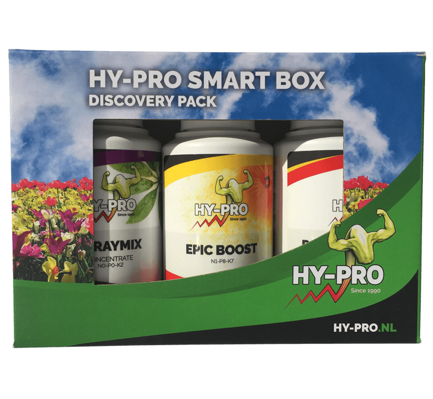 Hy-Pro Hydro Smartbox Discovery Pack 100 ml