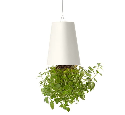 Boskke Sky Planter Recycled Blumentopf Weiß Groß