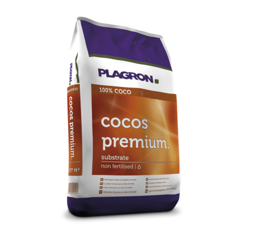 Plagron Kokos Premium Ungedüngt Substrat 50 Liter