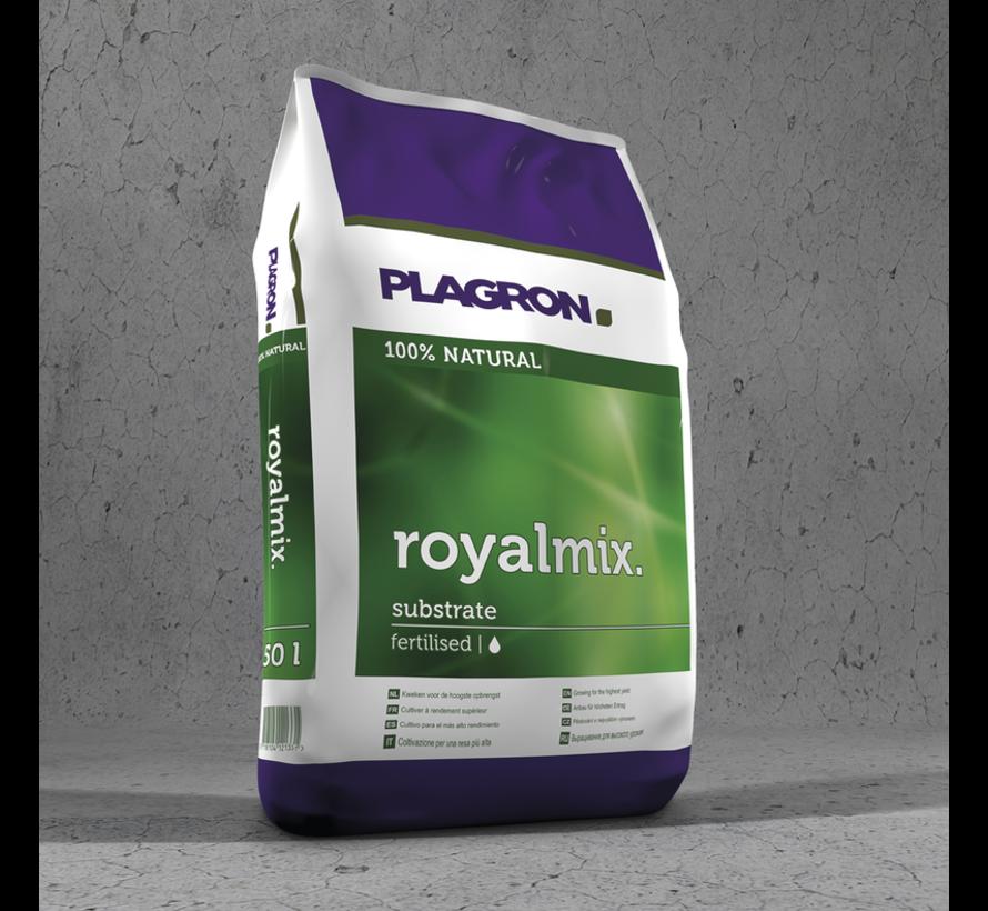 Plagron Royalmix Substrat gedüngt 50 Liter