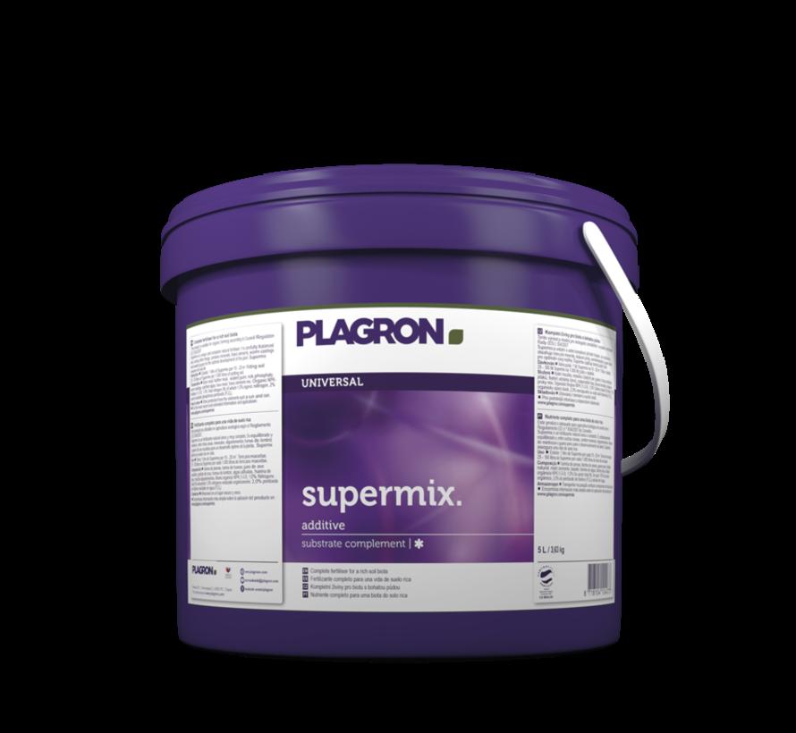 Plagron Supermix 5 Liter Substrat Komplement Zusatzstoffe