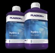 Plagron Hydro A&B 1 Liter Zweikomponenten Grundnährstoff