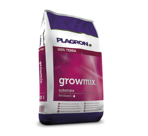 Plagron Growmix Substrat 55x50 Liter Perlit Palette