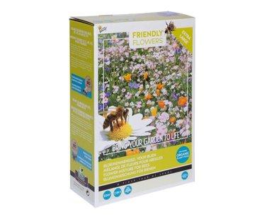 Buzzy Grow Gifts Friendly Flowers XL Blumenmischung Bienen 50m²