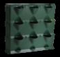 Vertical Grün 3 Modul Starter-kit