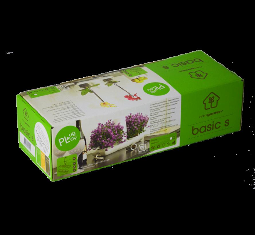Minigarden Basic S Uno Blumentopf Weiß