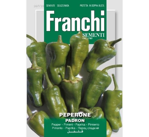 Franchi Pfeffer Peperone Padron