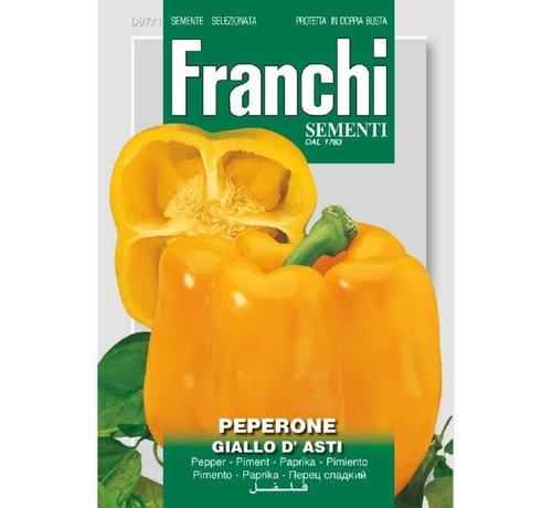 Franchi Paprika Peperone Giallo d' Asti