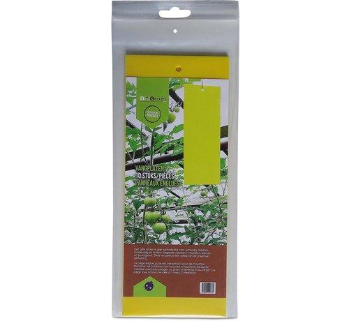Biogroei Gelbe Fangstreifen 10 x 25 cm 10 Streifen