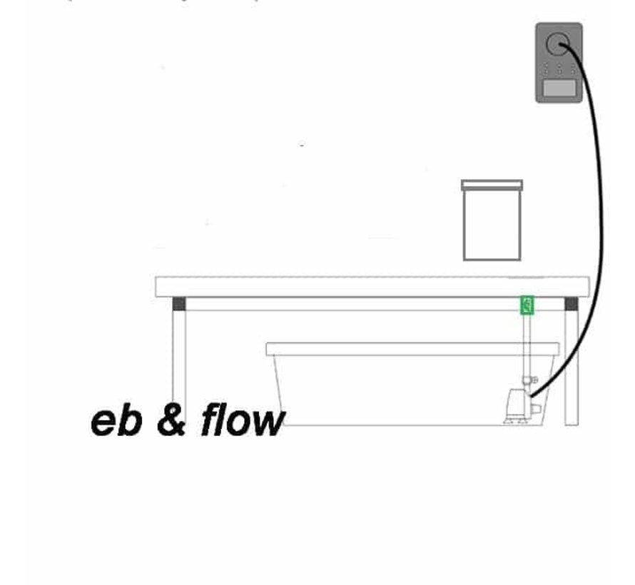 G-Tools Tröpf Ebbe & Flut Bewässerungssystem 400 Wing & Bonanza 1m2