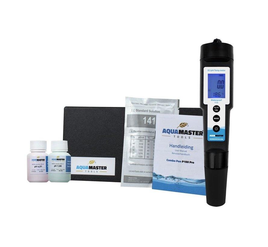 Aqua Master Tools Combo Pen P150 Pro pH, EC, TDS, PPM, Temp meter