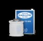 CAN-LITE 800 Aktivkohlefilter Stahl ø200mm Anschluss 800 m³/h