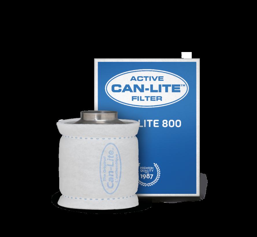 Can Filters CAN-LITE 800 Aktivkohlefilter Stahl ø200mm Anschluss 800 m³/h