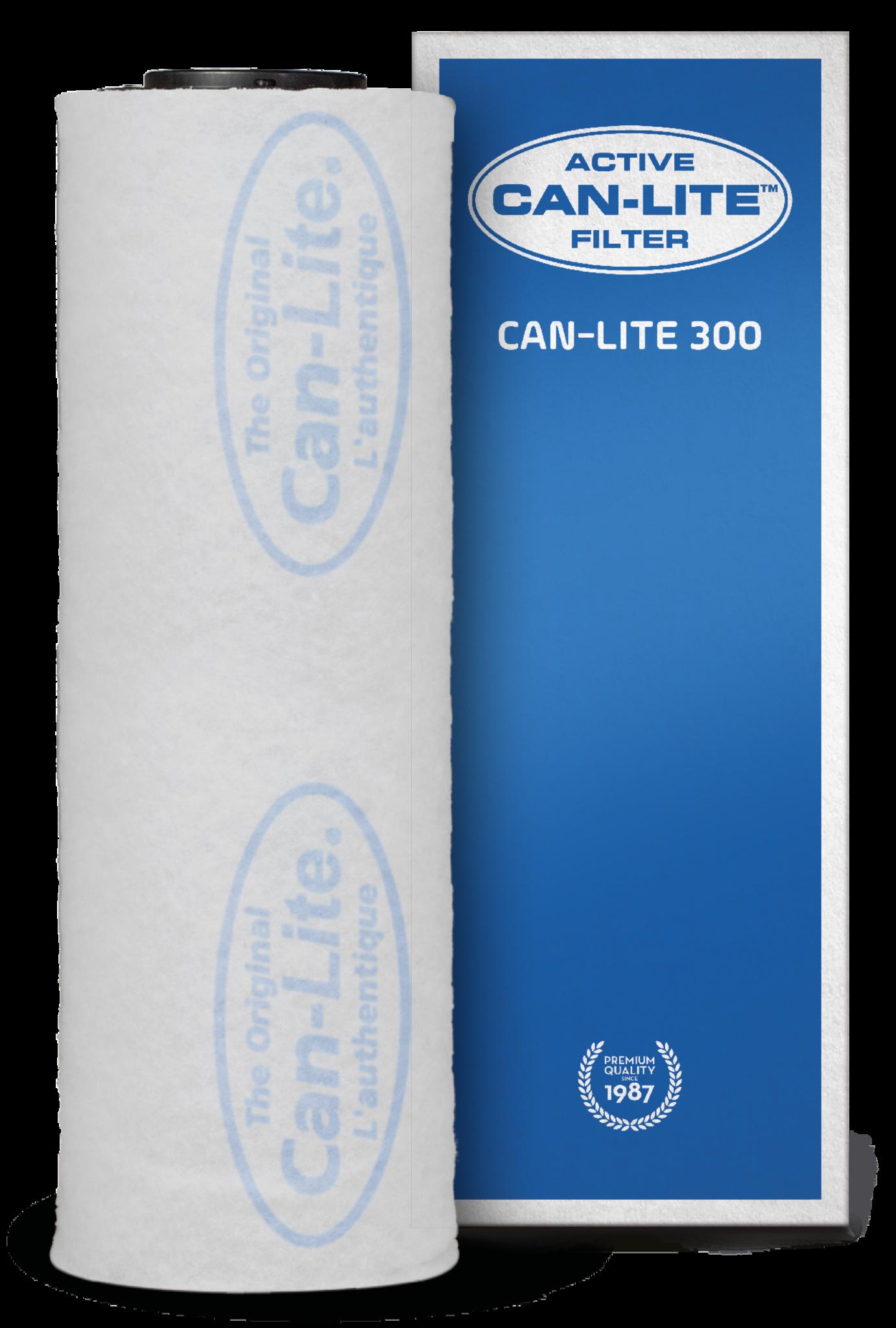 Can Lite 300 m³ Aktivkohlefilter 125 mm Flansch Aktivkohlefilter