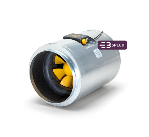 Can Filters Q-MAX AC 400/3240 Rohrventilator 3 Stufen Ø400mm 3240m³/h