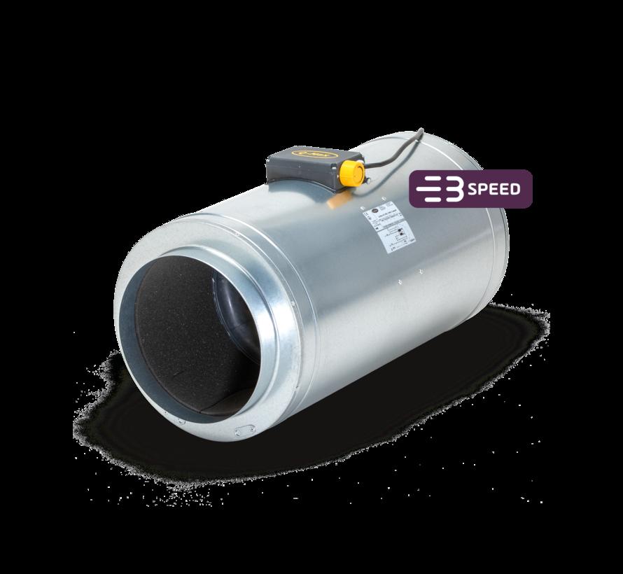 Can Filters Q-MAX  AC 250/1590 Rohrventilator 3 Stufen Ø250mm 1590m³/h