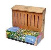 Buzzy Schmetterlingshotel Nestkast + Blumentöpfe