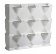 Minigarden Vertical Weiß 3 Module Starter-Kit