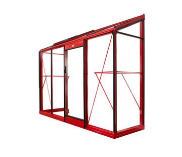 ACD Miccolo M04 Prestige Urban Wandgewächshaus Aluminium Rahmen